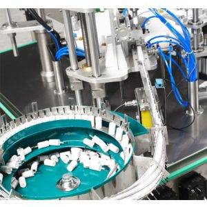 آلة تعبئة وتغطية طلاء الأظافر الأوتوماتيكية